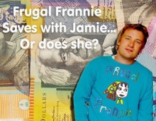 Frugal Frannie Saves with Jamie… or does she?